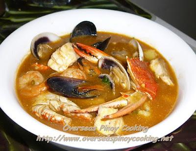 Seafood Bouillabaisse, Pinoy Style Dish