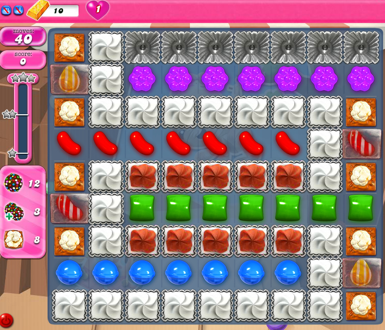Candy Crush Saga 1861