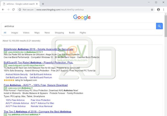 Searchingdog.com (Hijacker)