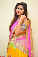 Lucky Sree in dasling Pink Saree and Orange Choli DSC 0374 1600x1063.JPG