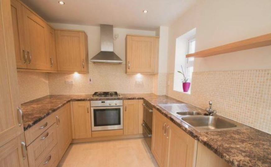 fishbourne buy to let property kitchen