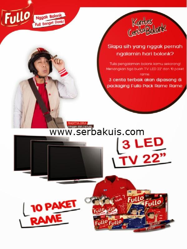 Kontes Cerita Bolonk Berhadiah 3 TV LED 22 Inch