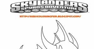 Skylanders Zap Coloring Pages