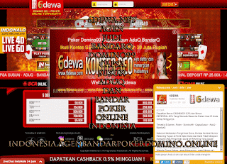 6dewa.net Agen Judi BandarQ Domino99 Capsa Susun AduQ dan Bandar Poker Online Indonesia ~ indonesia.agenbandarpokerdomino.online