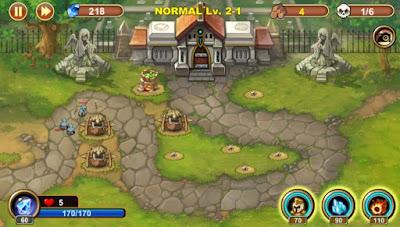 castle-defense-mod apk game