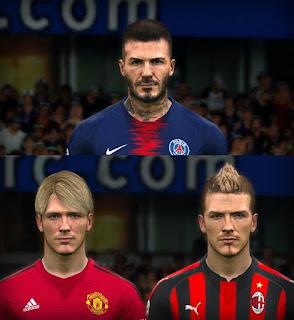 PES 2017 Faces David Beckham by Jefferson_SF
