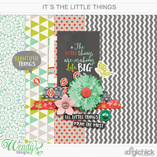 It's the Little Things by WendyP Designs