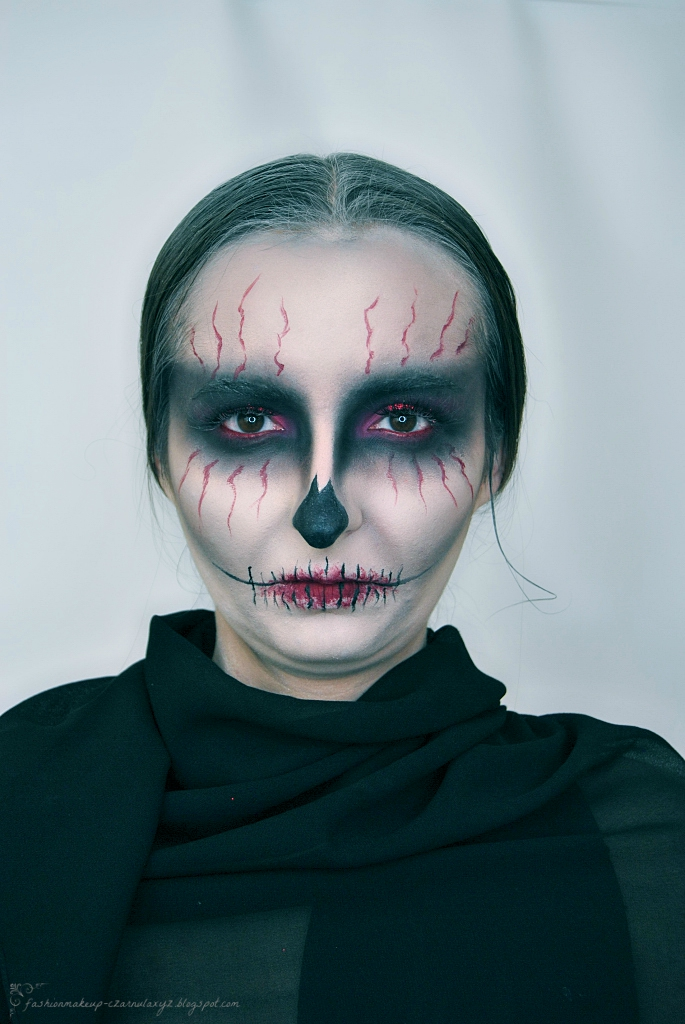 Halloween makeup 2018