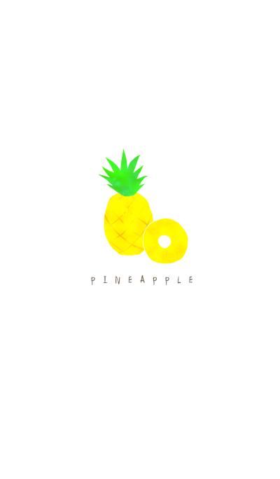 Chic pineapple illust