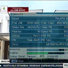 Frekuensi tvOne dan Metro TV Terbaru di Palapa D