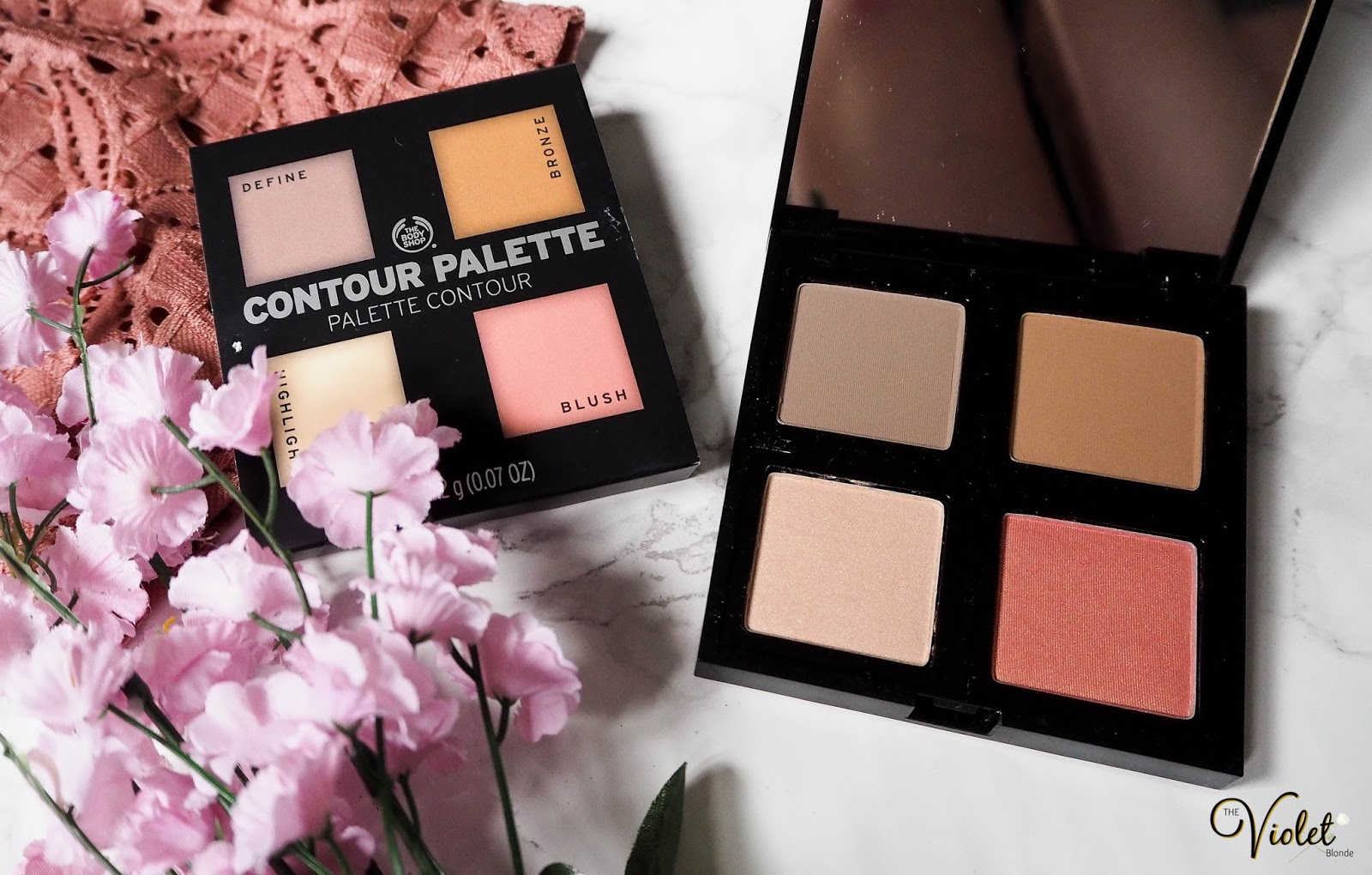 The Body Shop Face Contouring Palette First Impressions The Violet Blonde