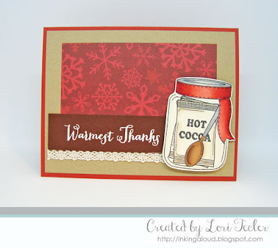 Warmest Thanks card-designed by Lori Tecler/Inking Aloud-stamps from Clear and Simple Stamps