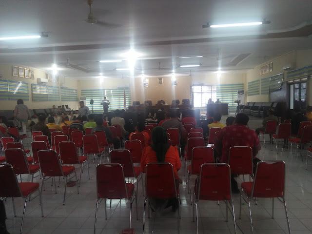 Suasana sidang rapat paripurna DPRD Tanjungbalai membahas ranperda.
