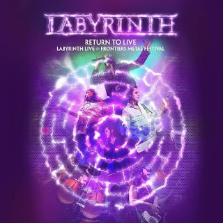 "Labÿrinth - ""Falling Rain"" (video) from the album ""Return to Live"""