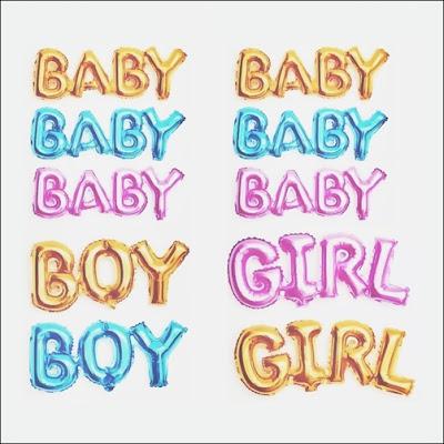 Balon Foil Baby Boy & Foil Baby Girl Link