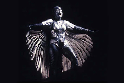 Gwyneth Jones as Brünnhilde in Die Walküre, The Royal Opera, 1982 © ROH, photograph by Donald Southern