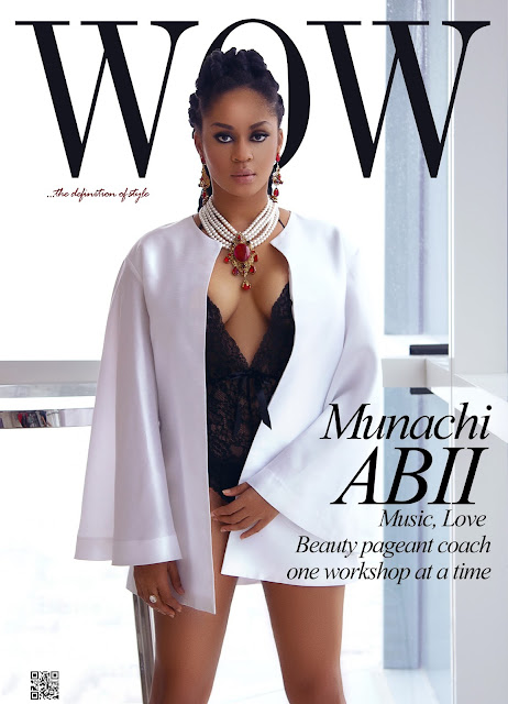 Munachi Abii, Graces The New Cover Of Wow Magazine