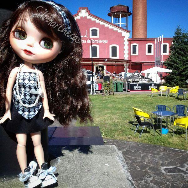 Caty Blythe doll en la feria desembalaje Cantabria