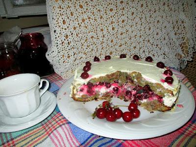 rozskenyér torta szeletelve