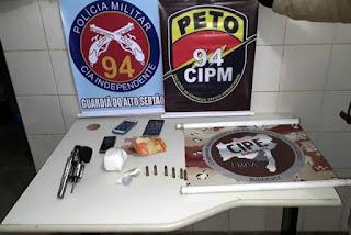 Suspeito de integrar facção criminosa