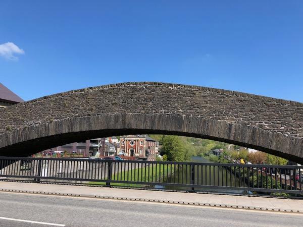 Pontypridd Bridge Wales