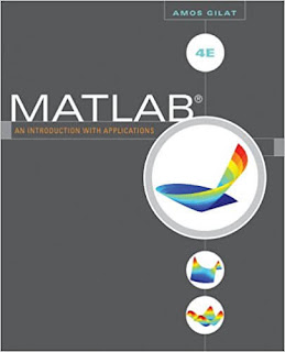 Matlab, An Introduction With Applications by Amos Gilat PDF Book Download