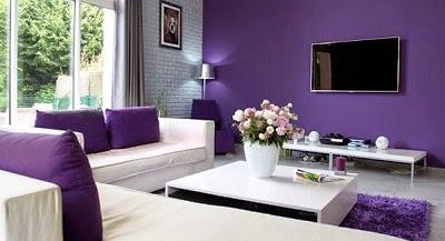 Untuk Membuat Ruangan Tampil Seimbang Dan Tak Terlihat Gelap Kombinasikan Dengan Warna Terang Misalnya Putih Anda Bisa Coba Terapkan Ungu Di