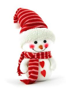Cute Snow Man Pic