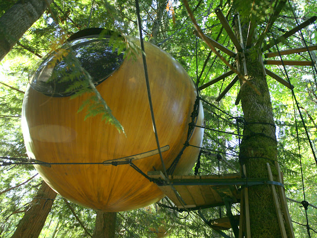 Free Spirit Spheres, The Eyeball Tree Hotel