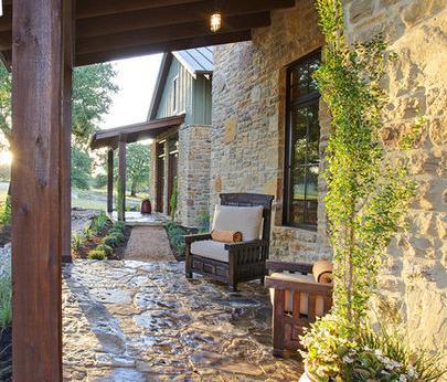 Fotos de terrazas terrazas y jardines terrazas de - Jardines exteriores de casas modernas ...