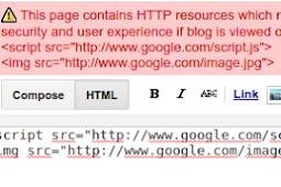 Cara Mengatasi Error HTTPS Pada Blogspot