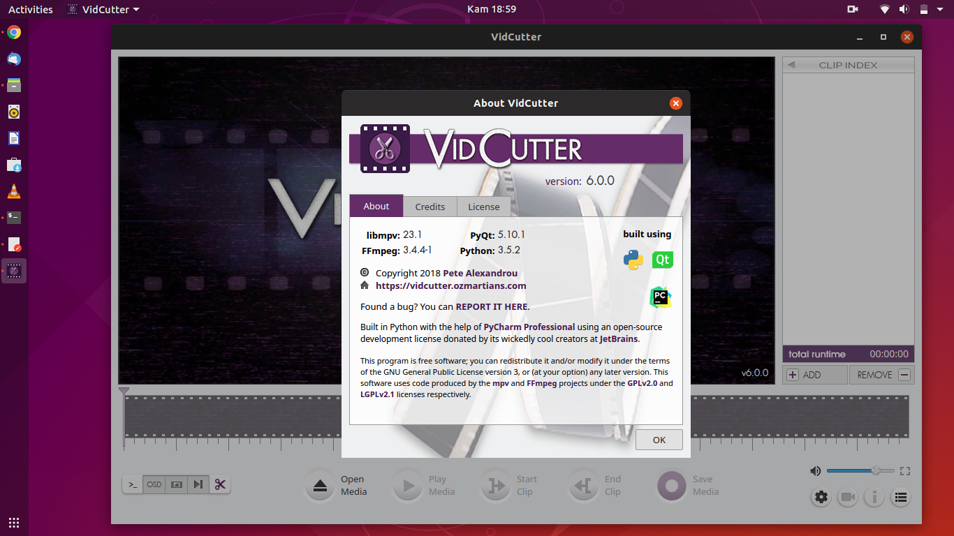 VidCutter 6 0 0 is Release, Install on Ubuntu / Linux Mint (AppImage