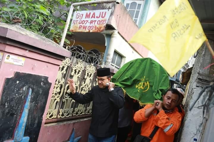 Ancam Pelaku Tabrak Lari Petugas Kebersihan DKI, Anies Tulis Surat Tegas dan Mengharukan