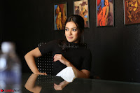 Catherine Tresa Latest Stills in Tight Black shirt ~  Exclusive 09.JPG