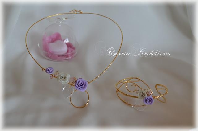 parure bijoux volutes