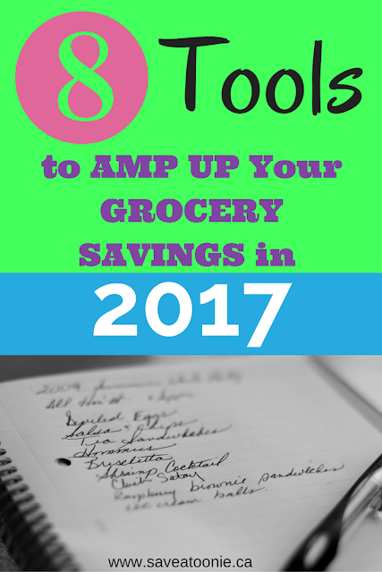 8 Tools to Amp Up Your Grocery Savings in 2017