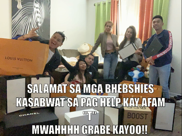 Madam Kilay Receives Gift From BF/Facebook