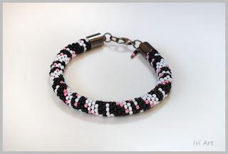"Bransoletka ""Zeberka"" – Bracelet ""Zebra"""