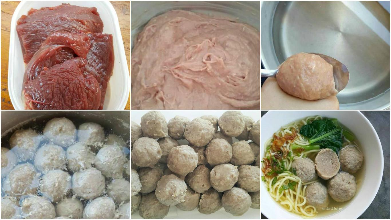 Resep Bakso Sapi Kenyal Tanpa Baking Powder Modern Id