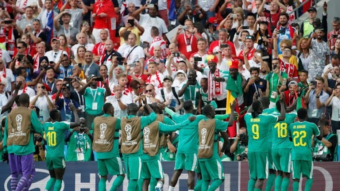 #WorldCup 2018: Senegal becomes first African nation to win at the tournament, beat Poland 2 - 1