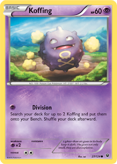 Koffing Fates Collide Pokemon Card