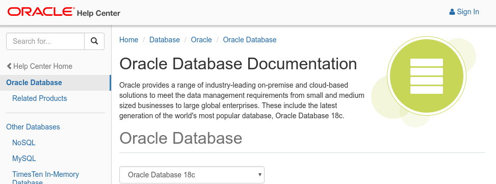 Run like Hell: Oracle Database 18c: Documentation released!