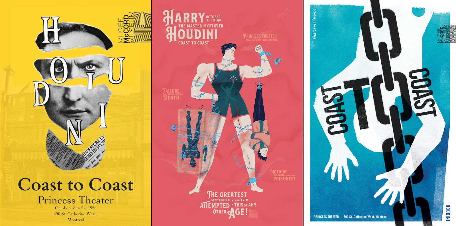 WILD ABOUT HARRY: Winner of the McCord\'s Houdini poster contest
