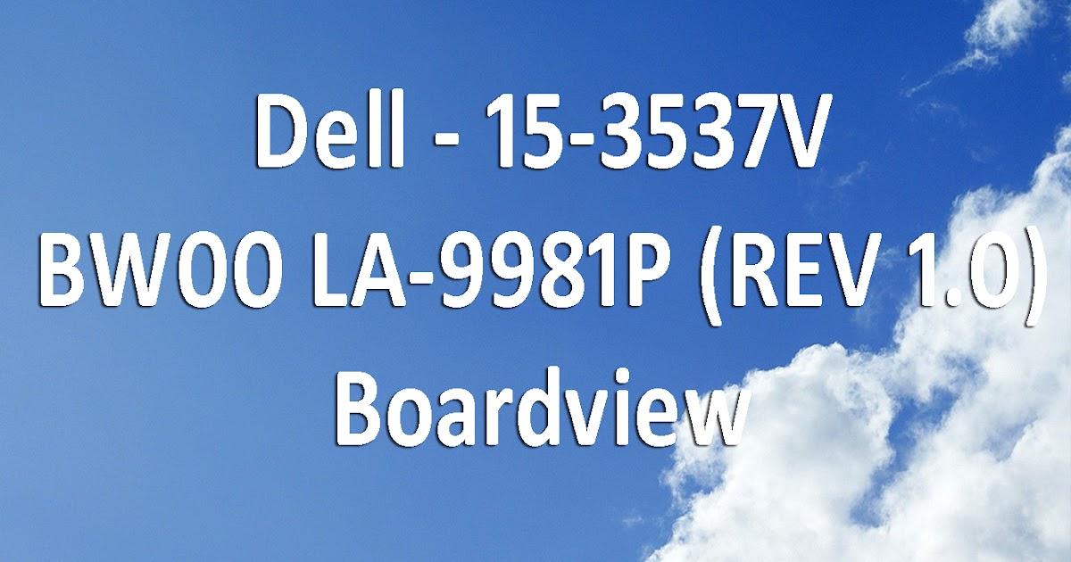 Dell 15-3537 VBW00 LA-9981P (REV 1 0) Board View Free Download