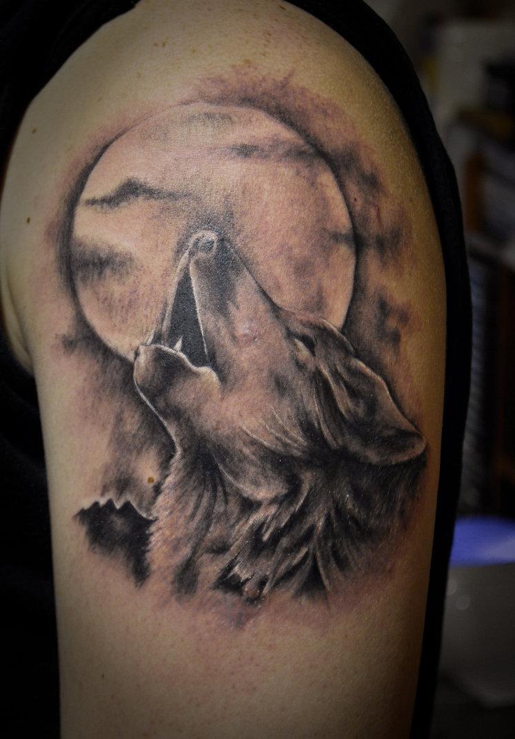 Tatuaż Przedstawiający Wilka Tatuaże 100 Pro