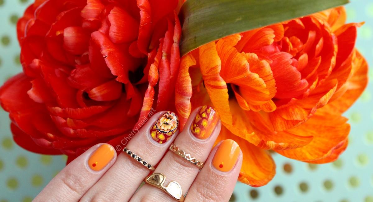 nail-art-zhostovo-tulipe-double-leopard-flower