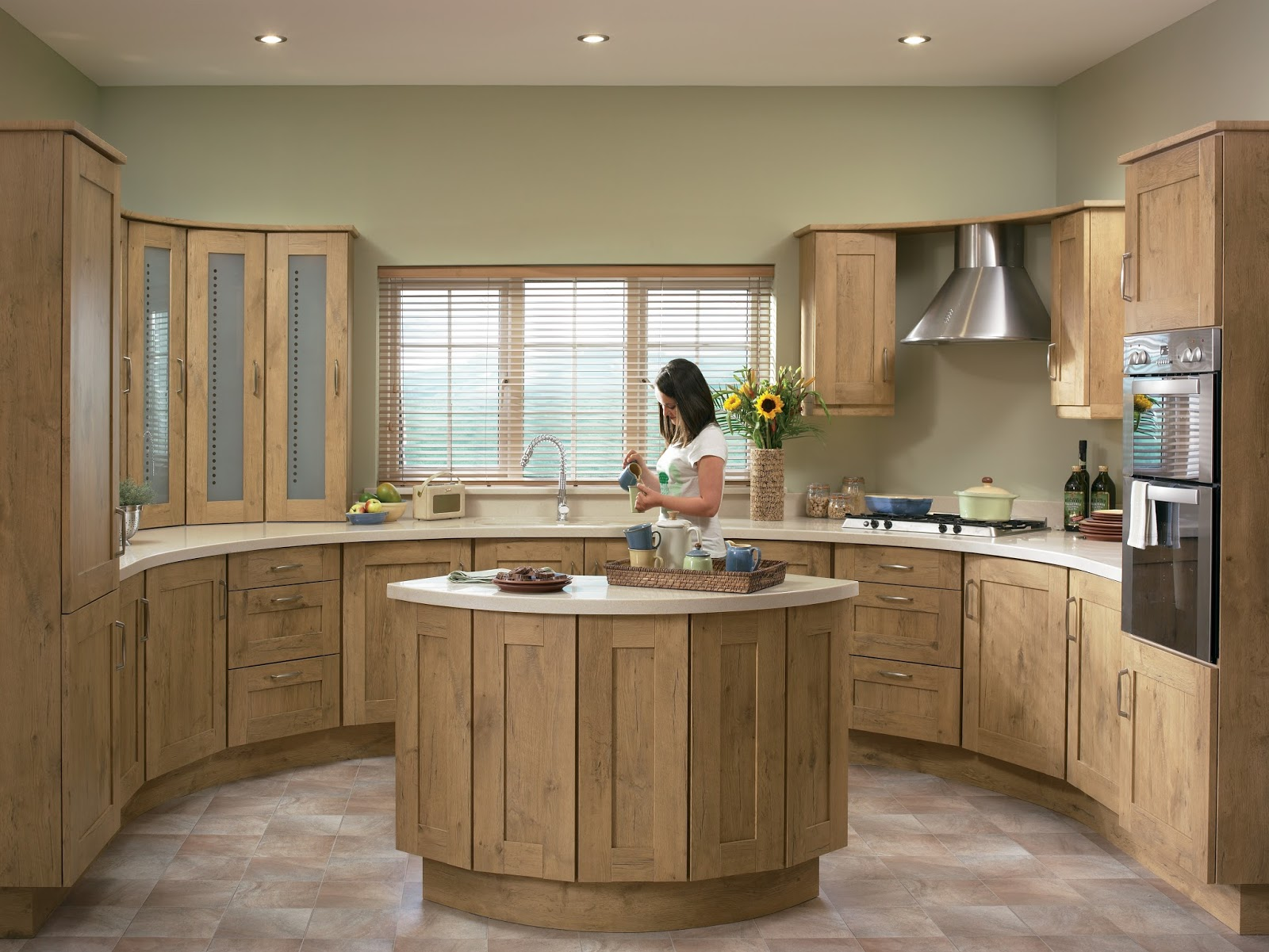 The Kitchen Yard  Made to Order Kitchen Units Doors and Accessories The Tuscany Kitchen with