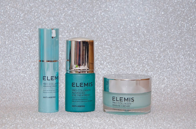Elemis face mask, eye treatment and day cream