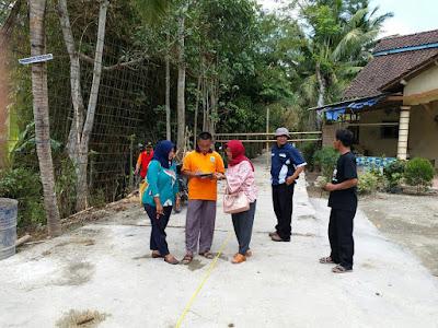 Kegiatan Sertifikasi Jalan Desa Sesuai Juknis Penggunaan Dana Desa 2018 Di Desa Klirong Kebumen