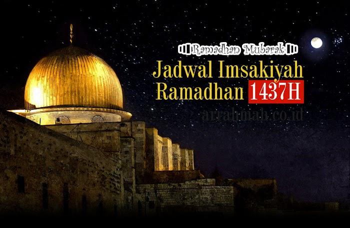 Jadwal Imsakiyah Ramadhan 1437H / 2016